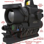 Features of the FLIR-T 60 Clip on Thermal Rifle Scope